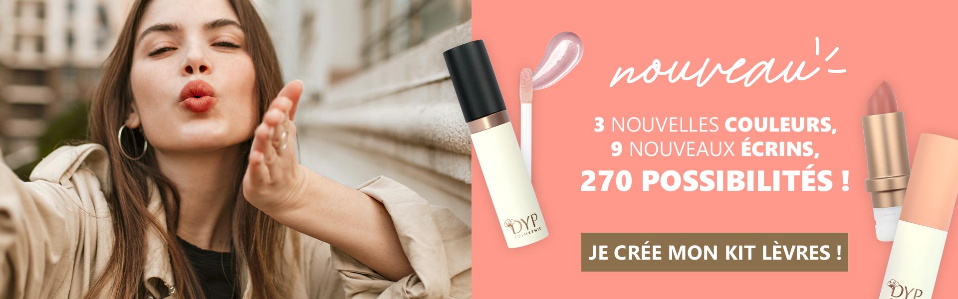 Nouveau - Ecrins Lèvres DYP COSMETHIC